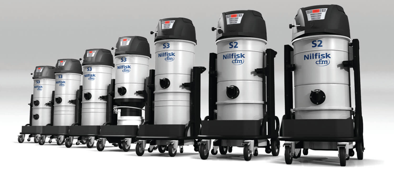 READY AND RELIABLE! We have 2 NEW Industrial Vacuum Cleaners!!!