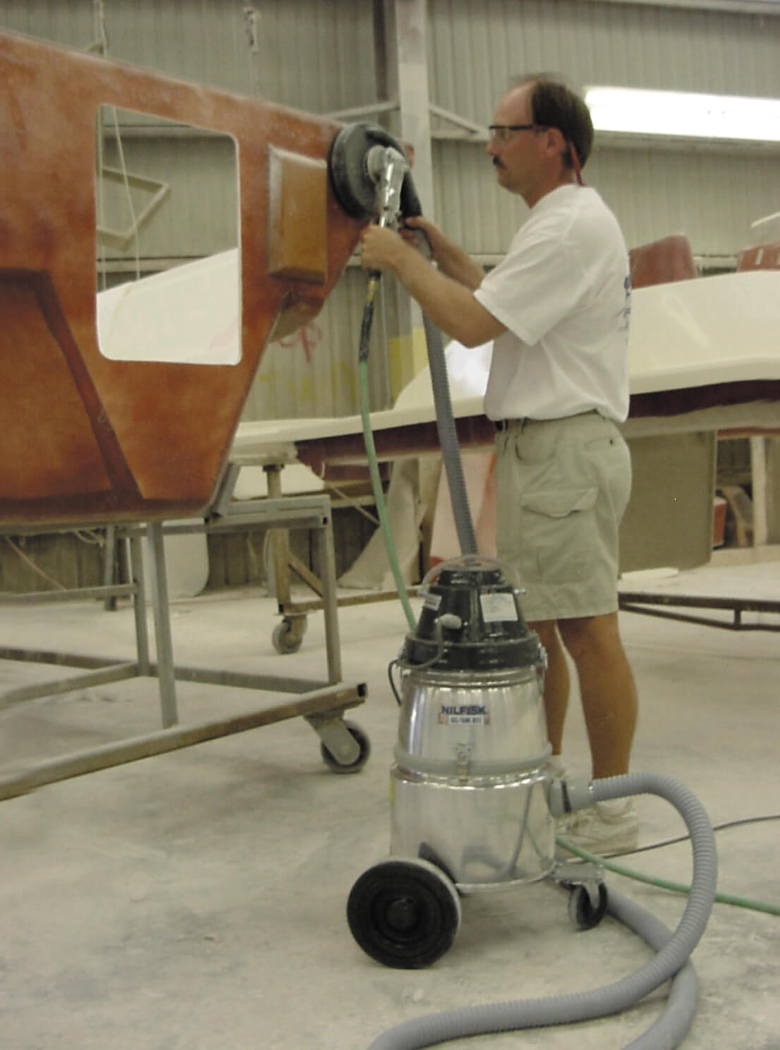 Boat Manufacturers Join the Combustible Dust Current