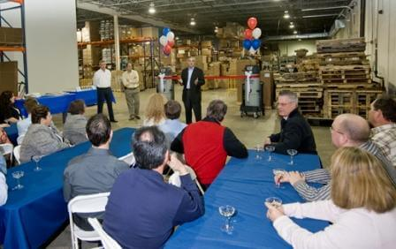 Nilfisk Industrial Vacuums Holds Ribbon Cutting Ceremony!
