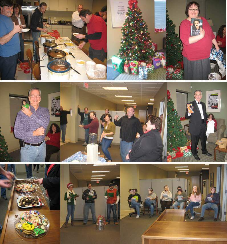 Nilfisk Morgantown celebrates Team Week with some holiday cheer!