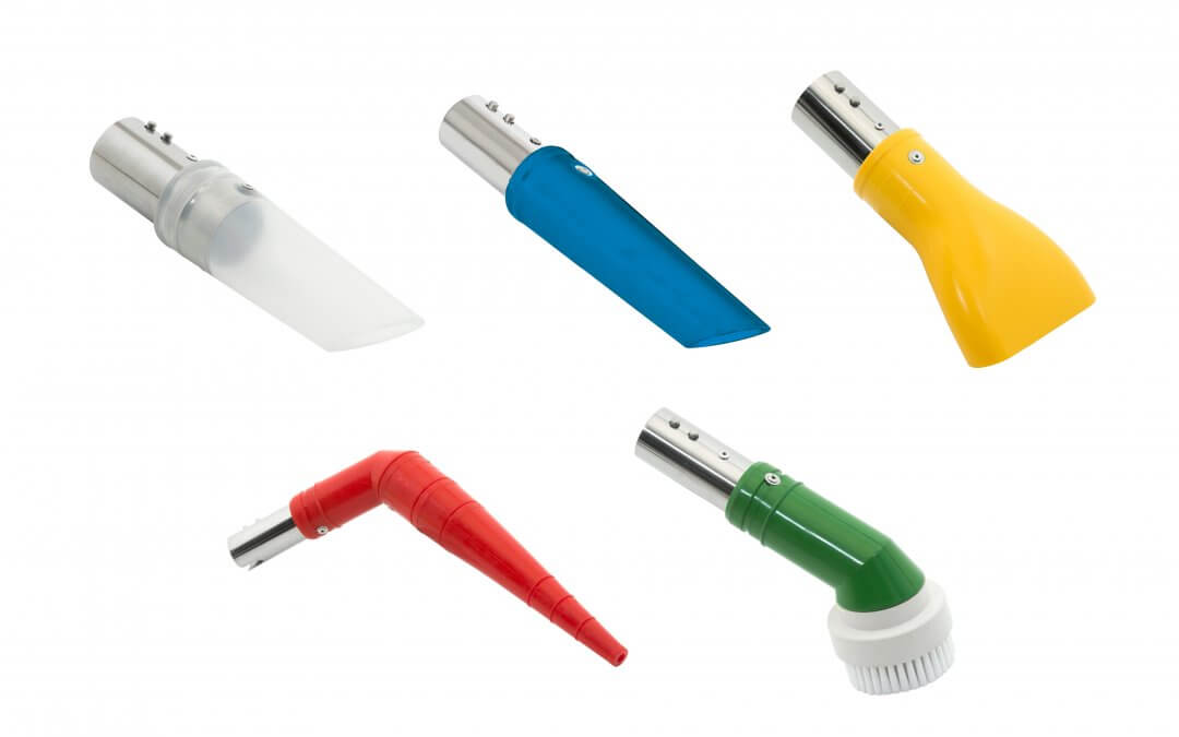 Keep Food and Workers Safe with Antistatic Food-Grade Color-Coded Vacuum Accessories from Nilfisk